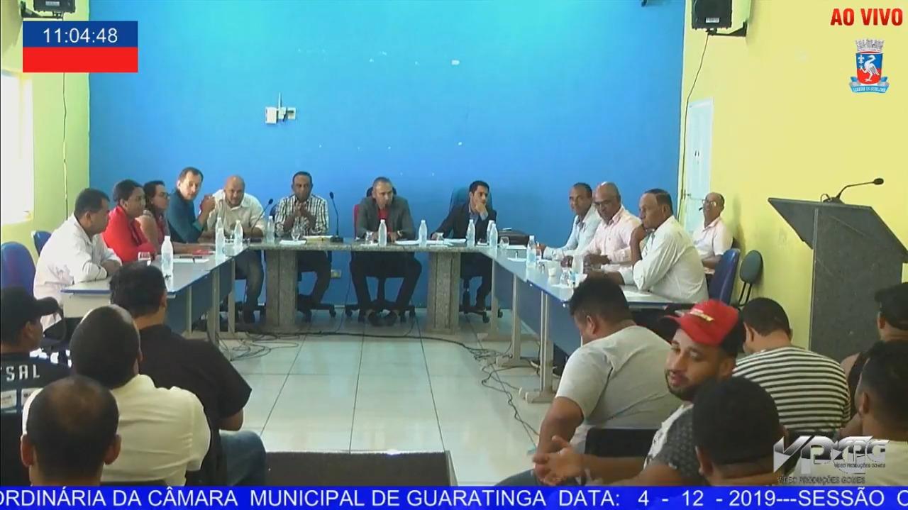Foto: TV Câmara de Guaratinga