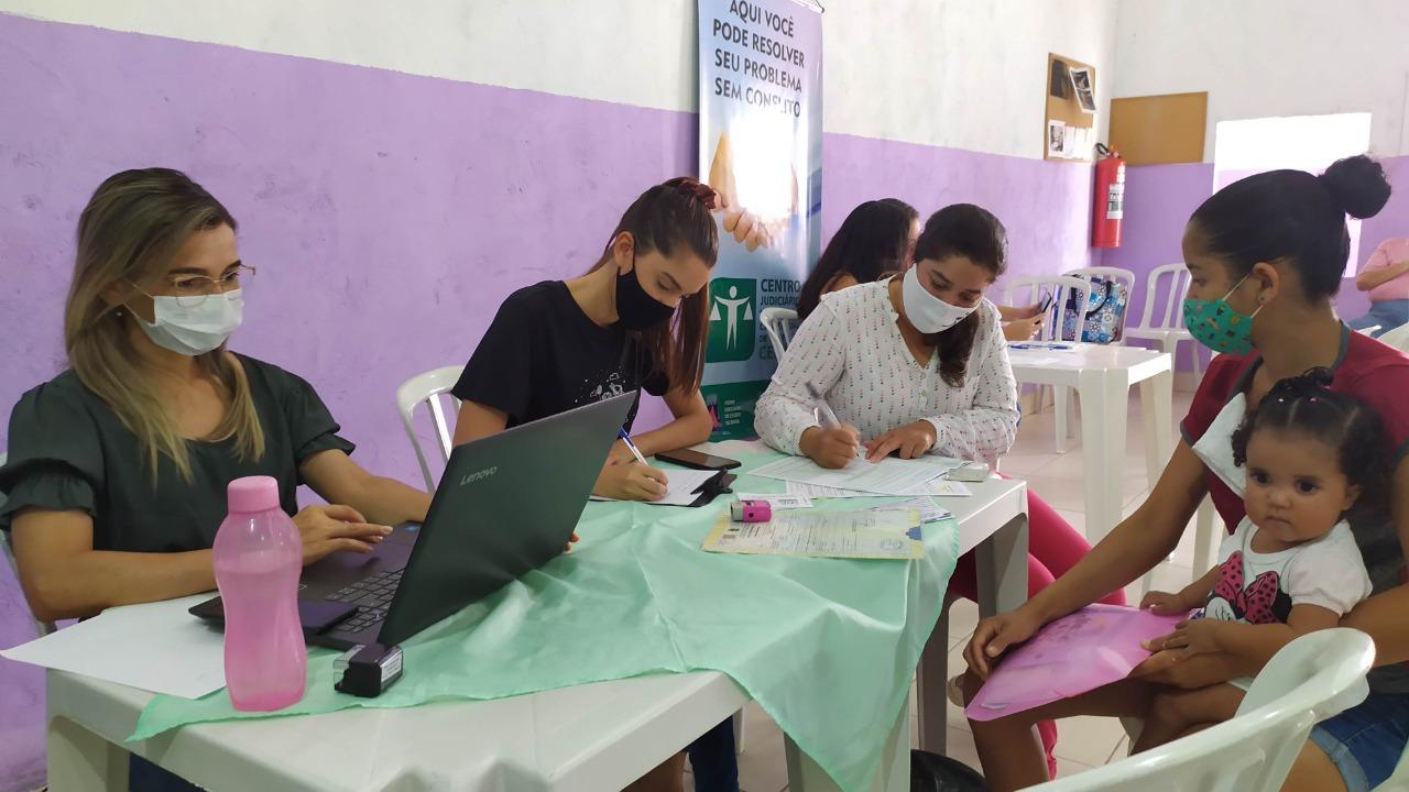 """Projeto """"Assistência Social Itinerante"""" atendeu moradores do bairro Nacional"""