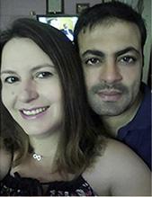 Cláudia e Khalid