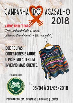 Campanha do Agasalho` da Fraternidade Feminina Itabelense ... 1b765ab2c4f
