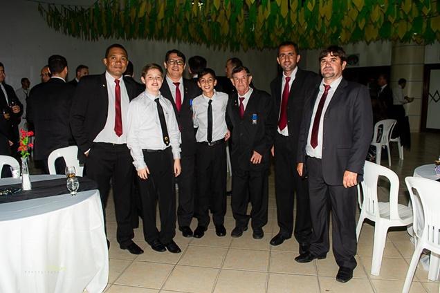 Entre os presentes na solenidade: Emerson Vasconcelos, Diogo, Warley Pires, PEDRO, Zé Sossai, Mark Lemon, Alex Sossai