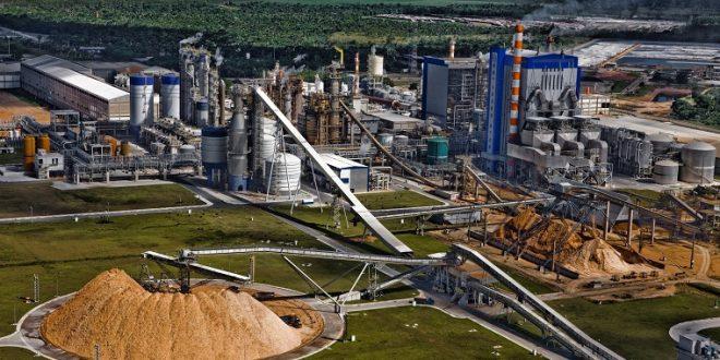 Imagem: Fábrica da Suzano no município de Mucuri