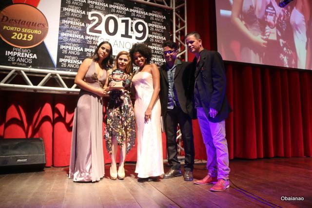 Antônia Guedes, do gigantesco Complexo de Bairros Baianão, foi eleita a empresária do ano no local - Loja Fill de Ouro