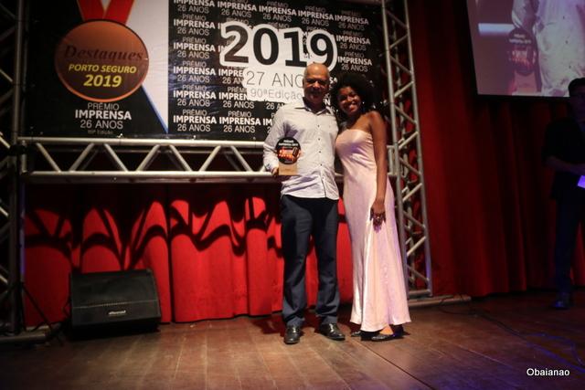Eletrofilme ganhou como melhor empresa de Sound Car, aqui representada pelo empresário Romário