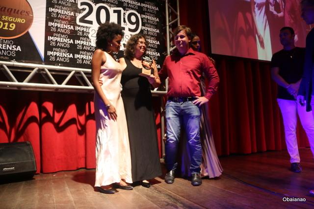 """A empresária Diva Landenberg foi outorgada com o prêmio """"Empreendedora do ano"""" pela construção da Fábrica de Chocolate Di Porto"""
