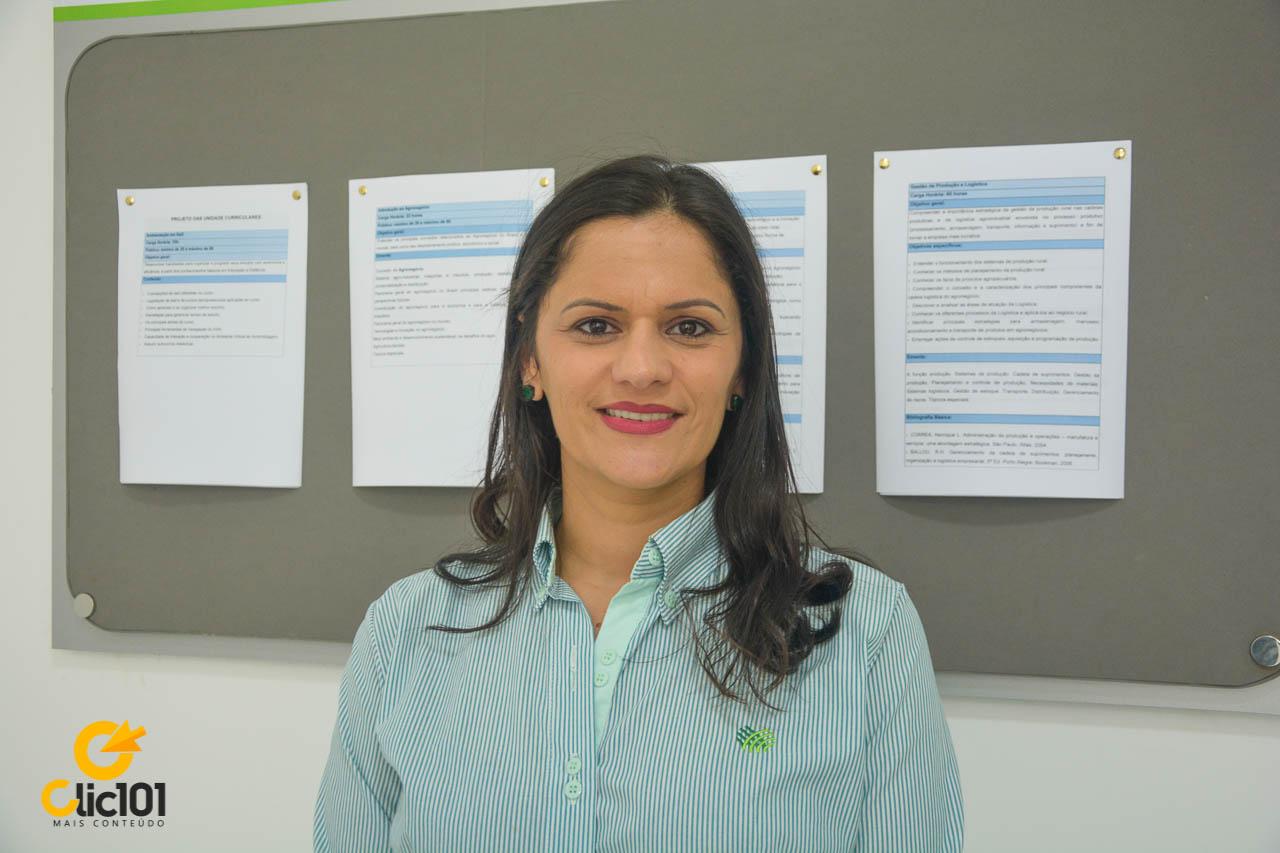 Coordenadora pedagógica do Senar Bahia, Daniela Lagos