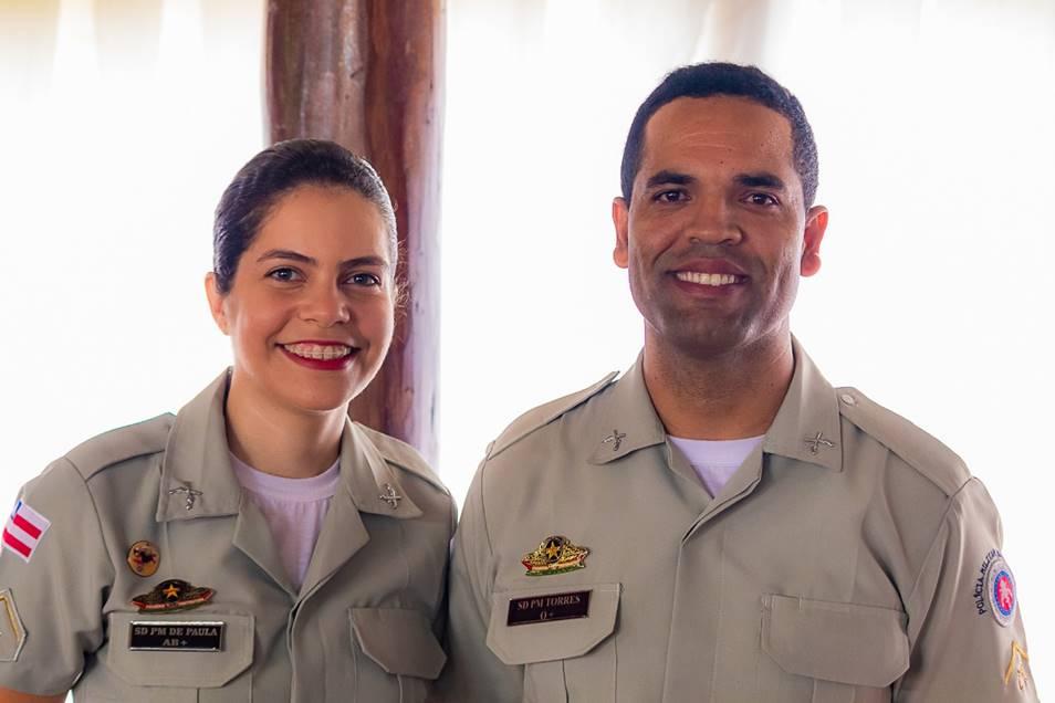 Professores do PROERD D' Paula e Torres