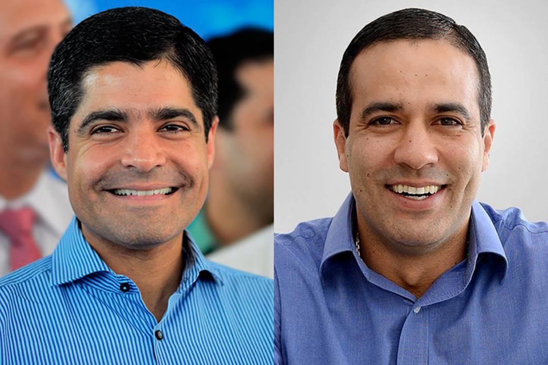 ACM Neto e prefeito eleito Bruno Reis