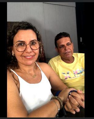 Prefeita Cordélia e seu esposo, Paulo Dapé