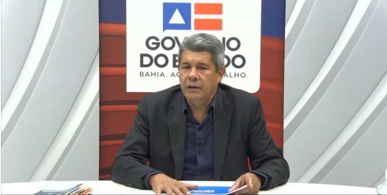Jerônimo Rodrigues, secretário de Educação da Bahia / Imagem: Reprodução/GOV-BA