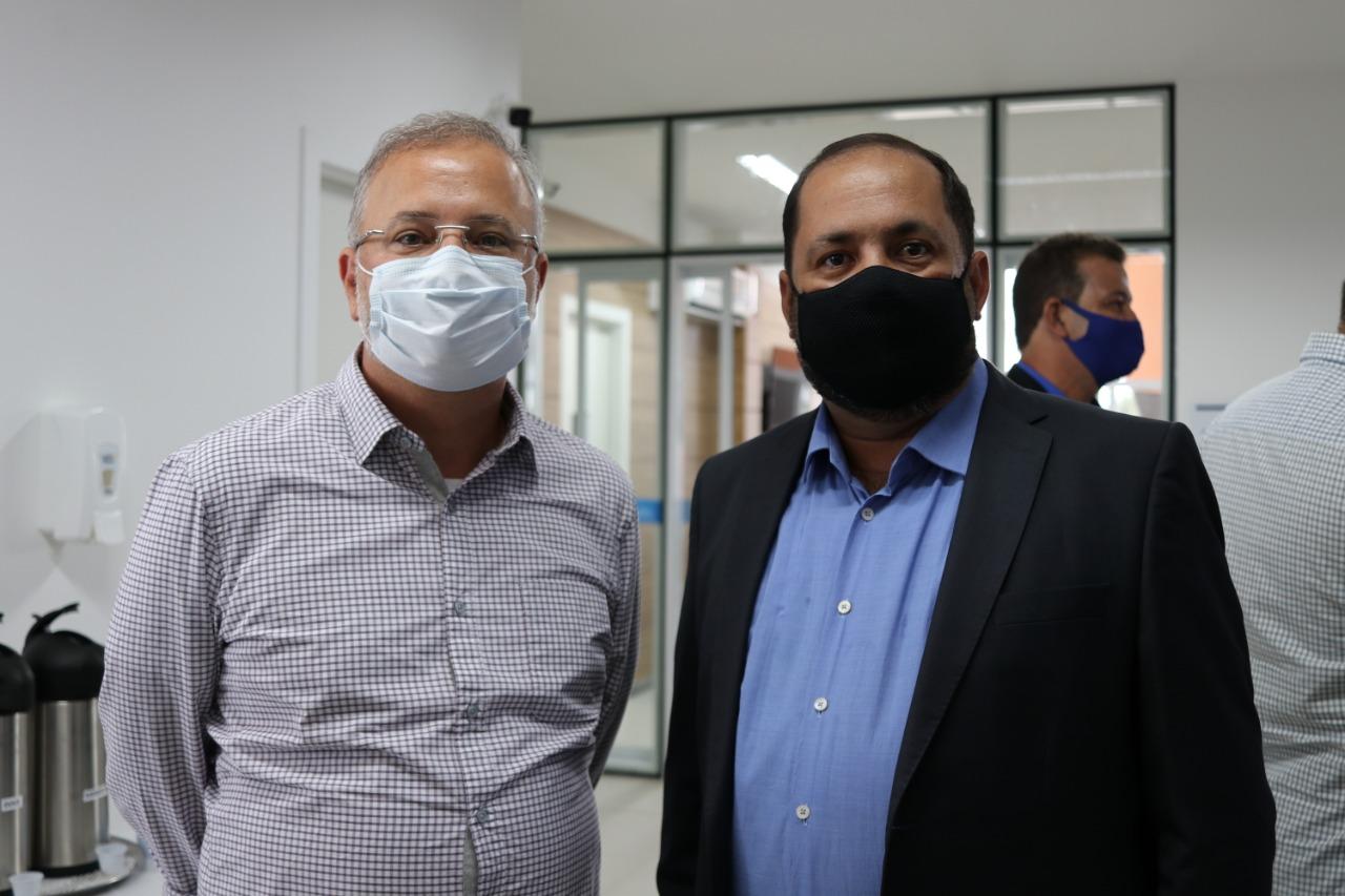 Secretário Vilas Boas e Jorge Maécio