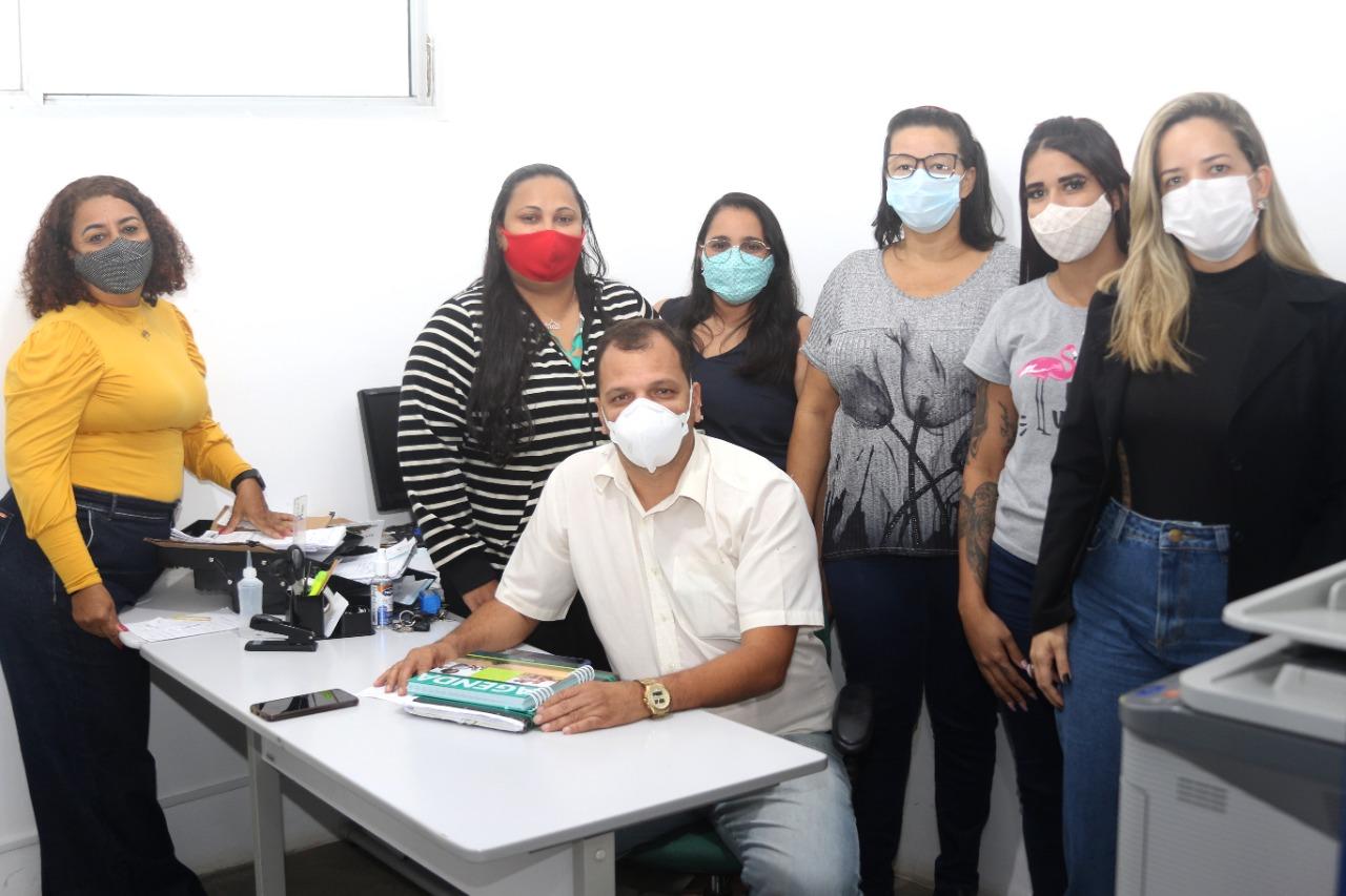 Equipe de profissionais que atua no Tratamento Fora de Domicílio, em Eunápolis